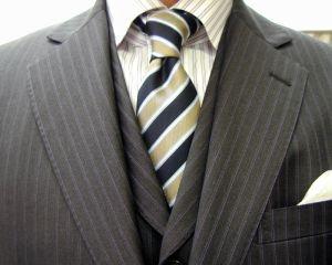 クラシコ・3ピース・グレイ(NAPOLENA 3RD GENERATION)・春の洋服まつり