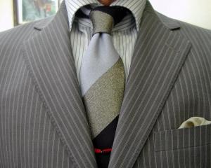 クラシコ・2ピース・グレイ(サマーウール) 秋の洋服まつり・初日