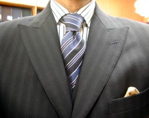 濃紺オフィシャルスーツ