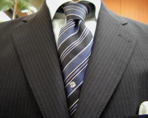 濃紺モヘア・オフィシャルスーツ