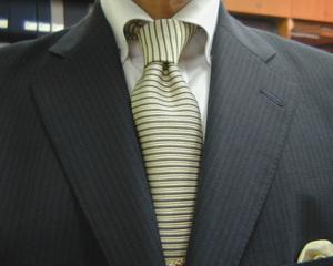 濃紺モヘア・ブリティッシュスーツ