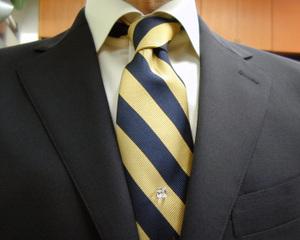 直縫い・紺ブレ