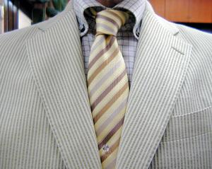 COTTON60%アンコン仕立てジャケット