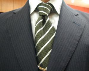 秋の洋服まつり初日・濃紺モヘア・ブリティッシュスーツ