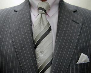 クラシコ(ナチュラルストレッチ)グレイ2ピース 春の洋服まつり・3日目
