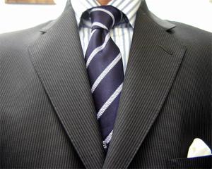 ブリティッシュ3釦・チャコール・チェンジポケット