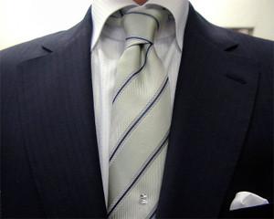 ブリティッシュ2つ釦・濃紺モヘア・2ピース