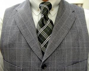 グレンチェック・オッドベスト(Odd Vest)