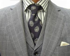 グレンチェック・3ピース/クラシコ 春の洋服まつり
