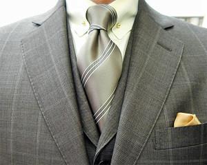クラシコ・3ピース・ウィンドウペン(windowpane)春の洋服まつり