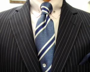 クラシコ・2ピース・濃紺ペンシルストライプ 春の洋服まつり