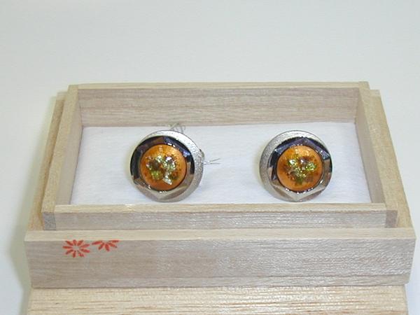 七宝焼・カフ-リンクス5