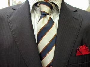 クラシコ・濃紺2ピース Superfine Merino Wool SCABAL